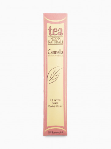Bastoncini d'Incenso Naturali CANNELLA Tea Natura 10pz [3235]