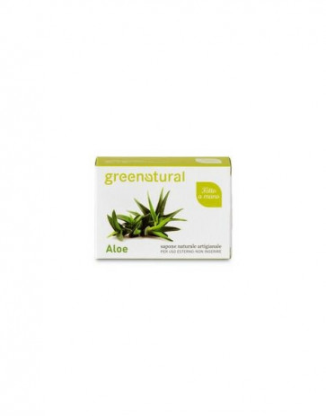 Saponetta all'Aloe Green Natural 100gr [4448]
