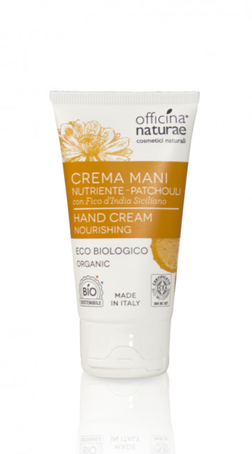 Crema mani nutriente al Patchouli Officina Naturae 50ml [4277]