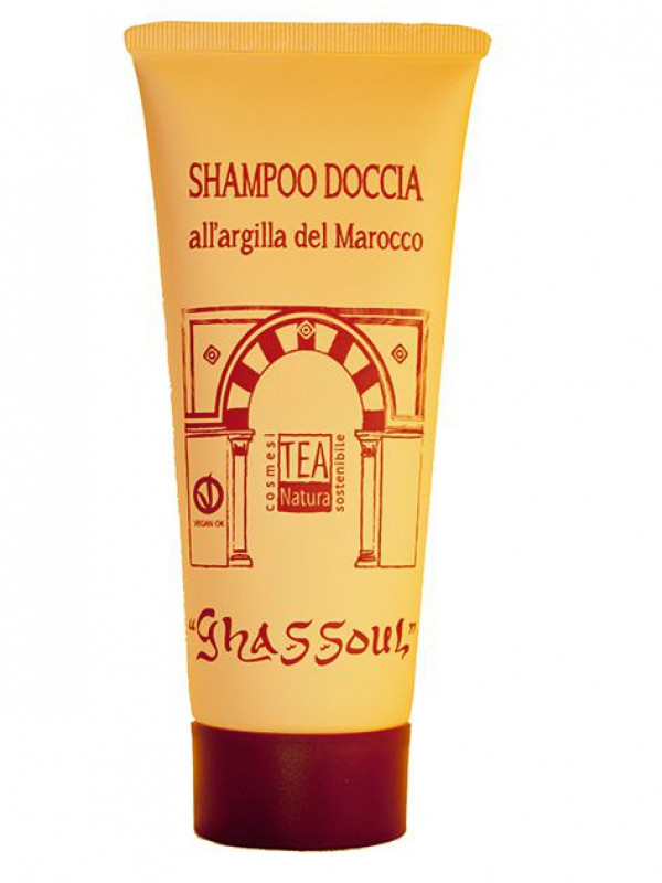 Shampoo Doccia al Ghassoul Tea Natura 200ml [2148]