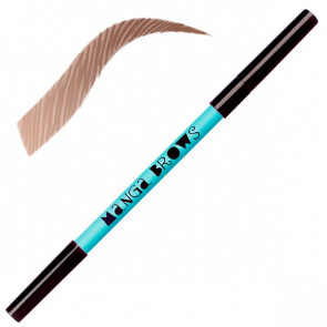 Manga Brows warm blonde & soft brown Neve Cosmetics [2394]