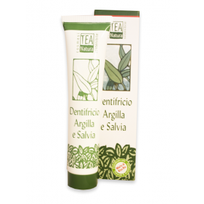 Dentifricio Argilla e Salvia Tea Natura 75ml [1113]